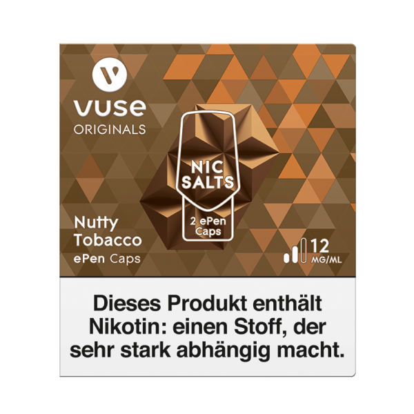 Nutty Tobacco ePen Cap