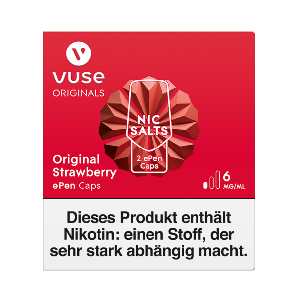 Original Strawberry ePen Cap