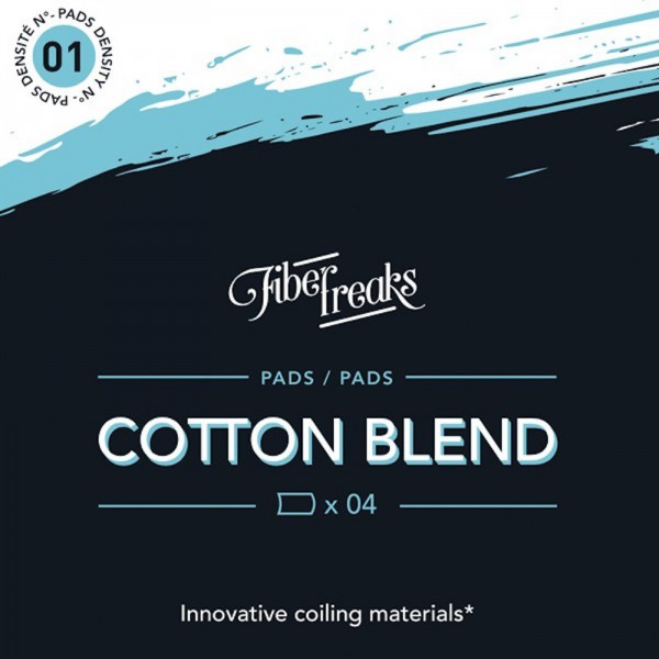 Fiber Freaks Cotton Blend Pads (Den. 1)