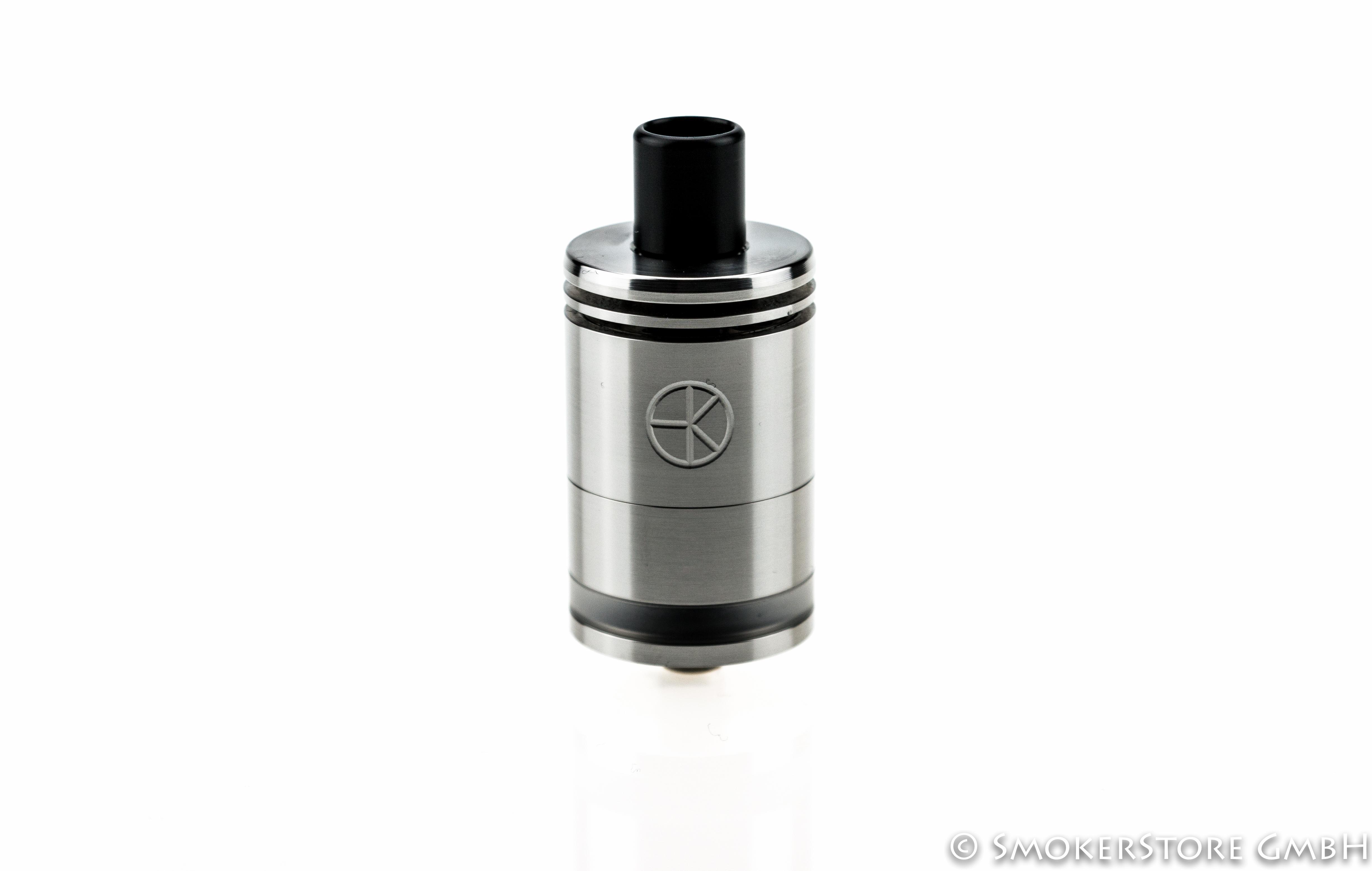 Strålende Kopp Design Tank Ding 23mm (mit Glastank) | Smokerstore PO-09