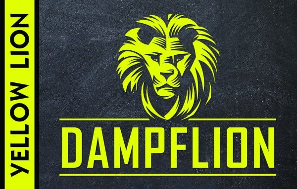 Dampflion Aroma- yellow lion